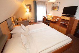 Doppelzimmer im Hotel-Restaurant Baumhove in Werne