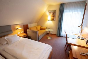 Hotelzimmer im Hotel-Restaurant Baumhove in Werne