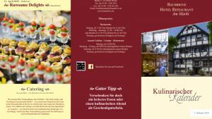 Kulinarischer Kalender 1. Halbjahr 2019